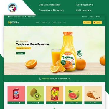 Website Template № 100697