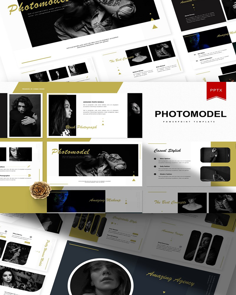 Photomodel | PowerPoint Template