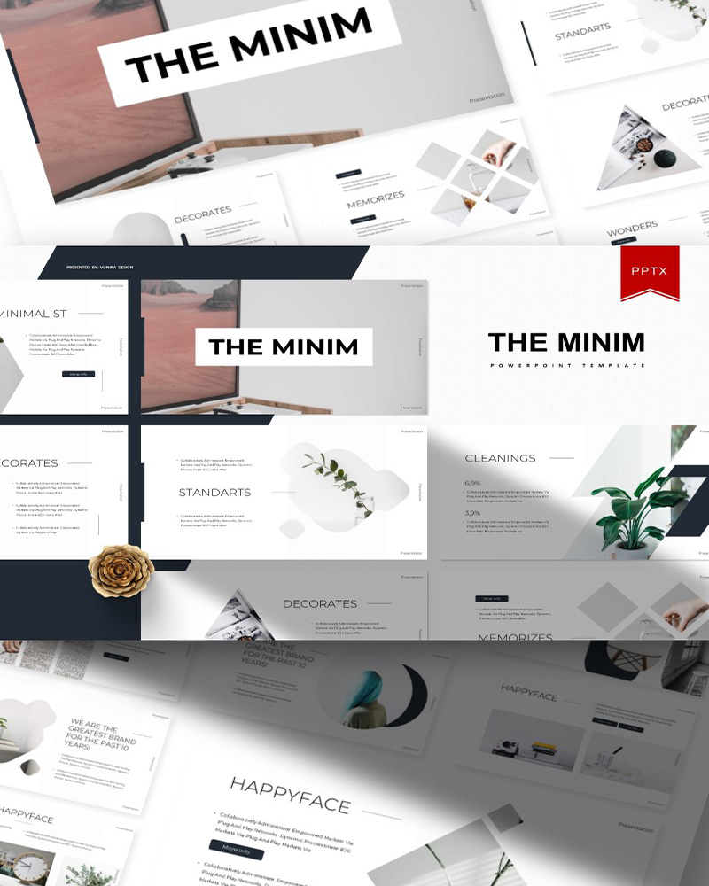 The Minim | PowerPoint Template
