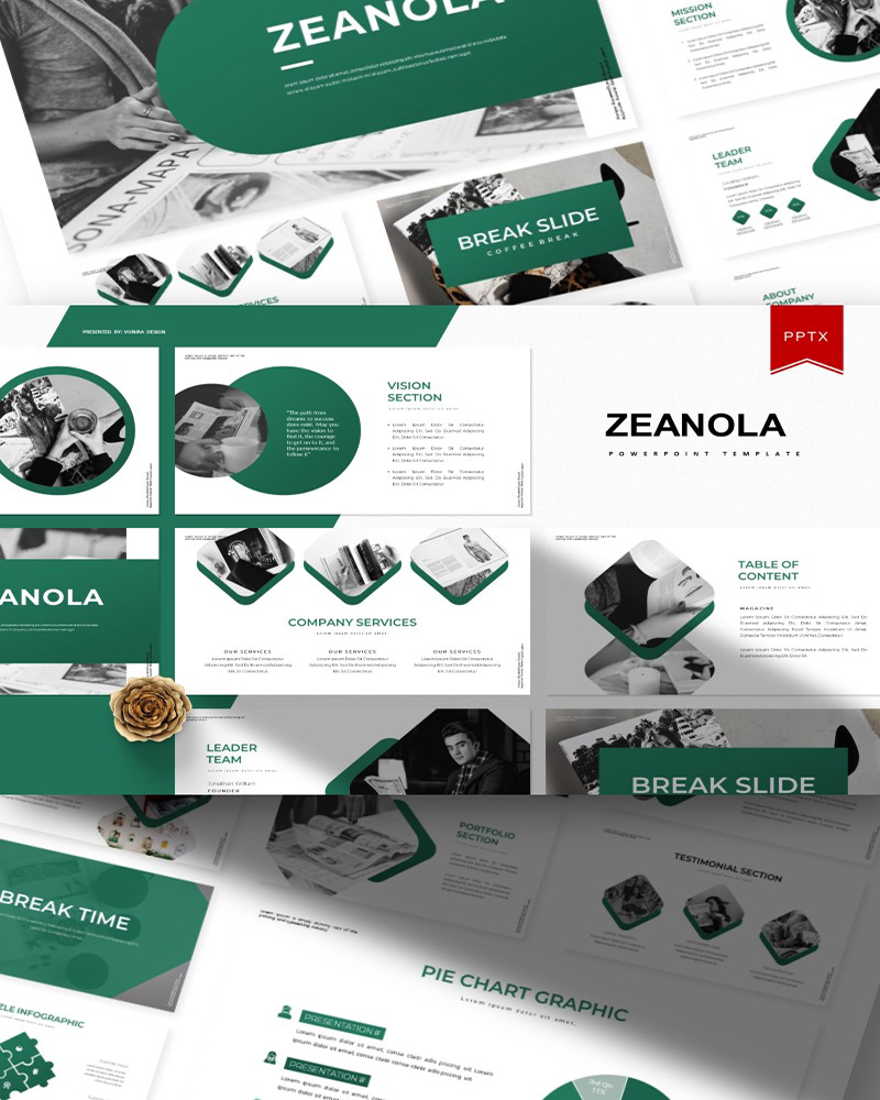 Zeanola | PowerPoint Template