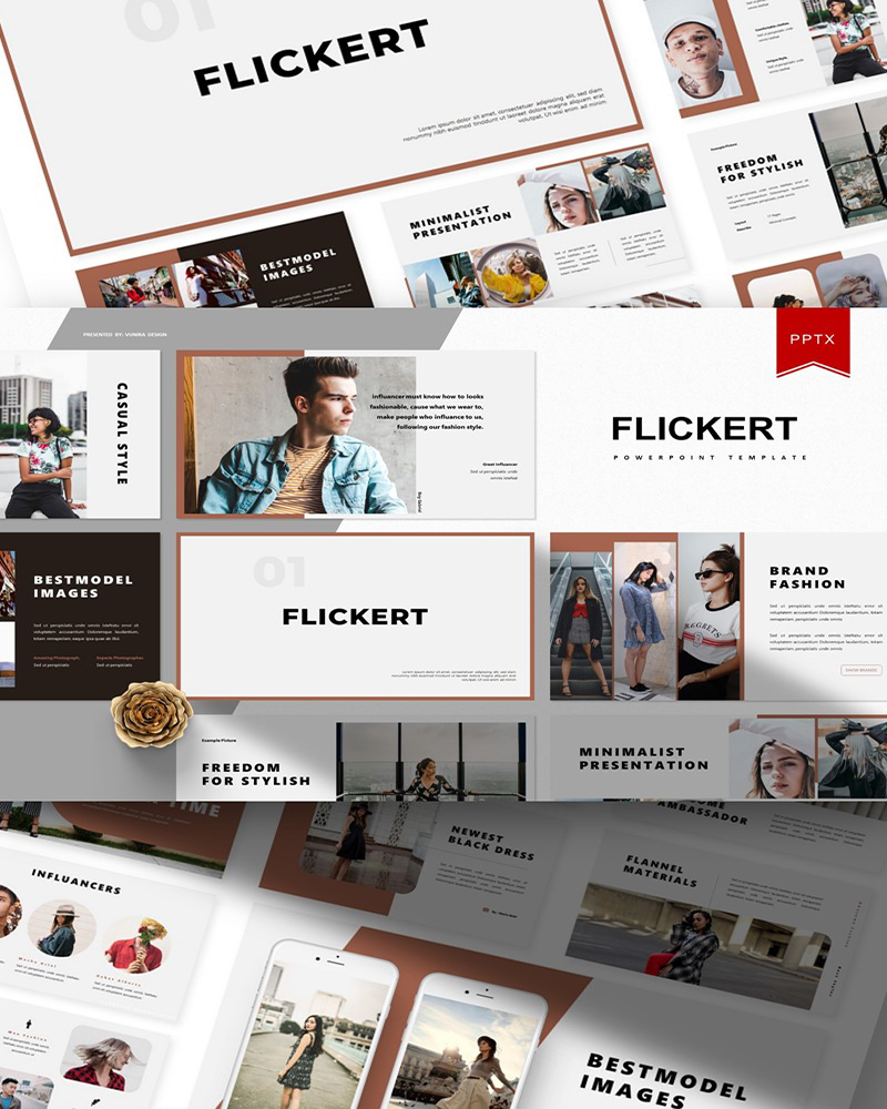 Flickert | PowerPoint Template