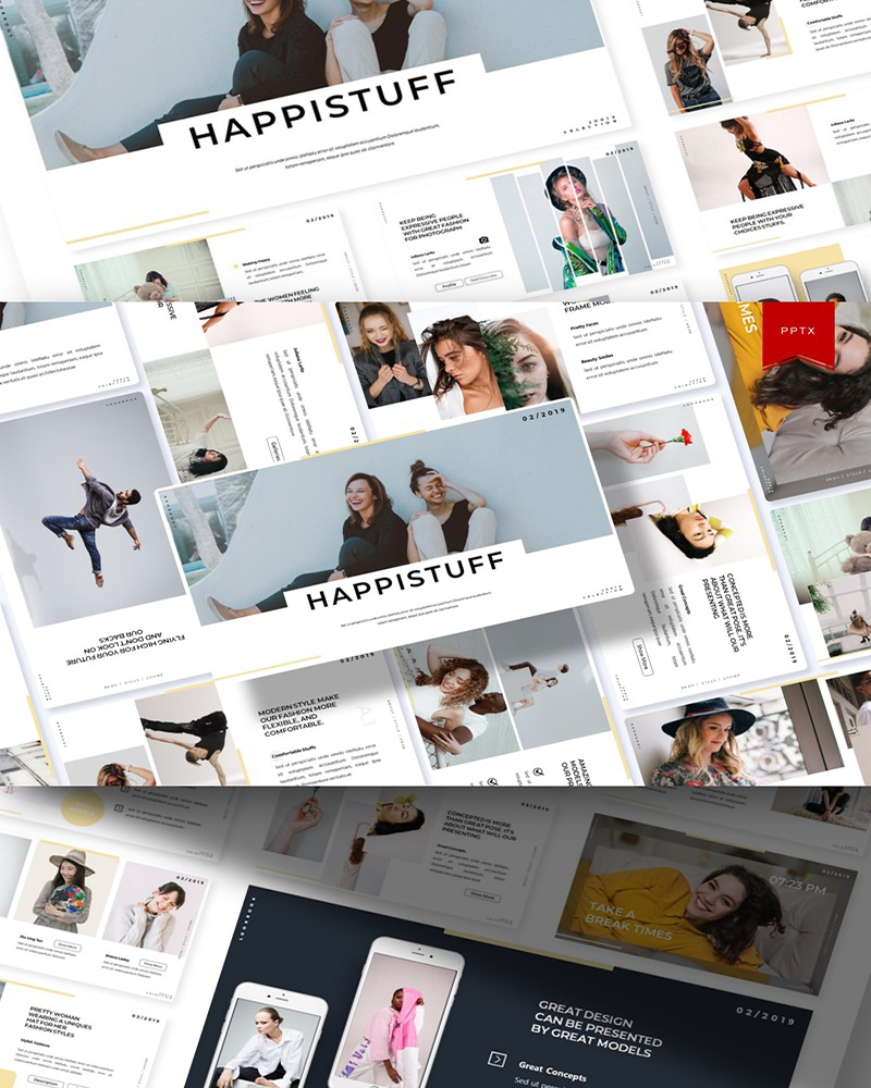 Happistuff | PowerPoint Template