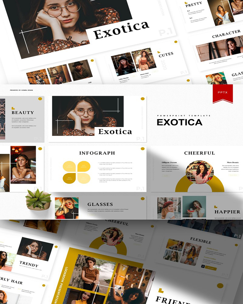 Exotica | PowerPoint Template