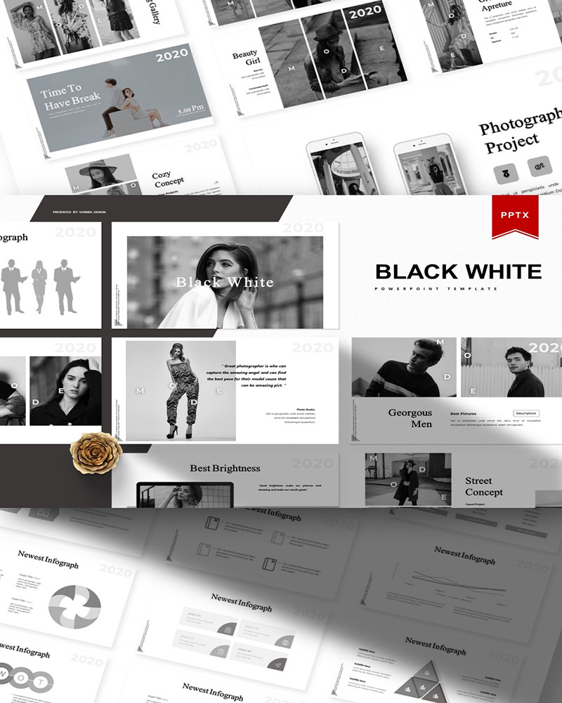 Black White | PowerPoint Template