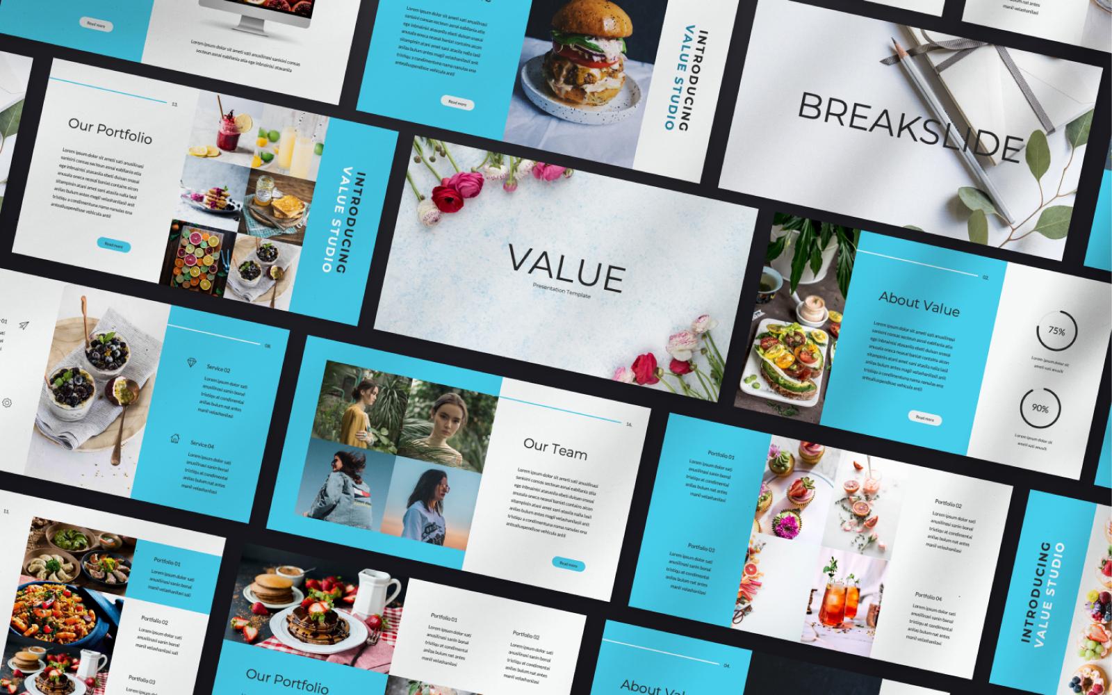 Value Studio PowerPoint Template