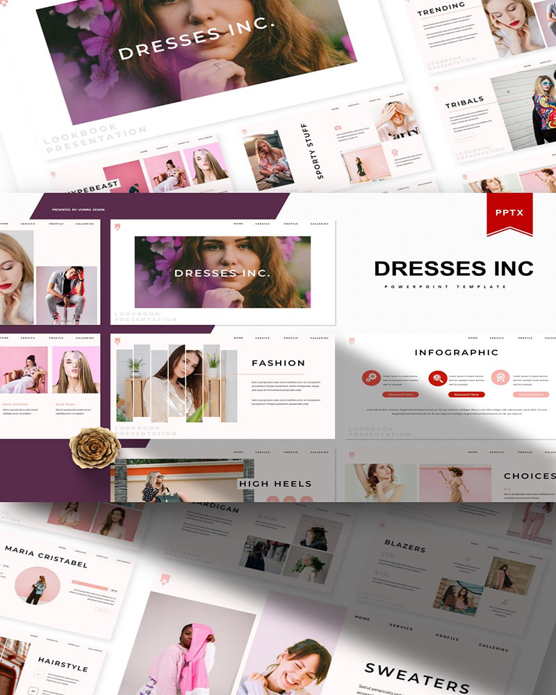 Dresses | PowerPoint Template