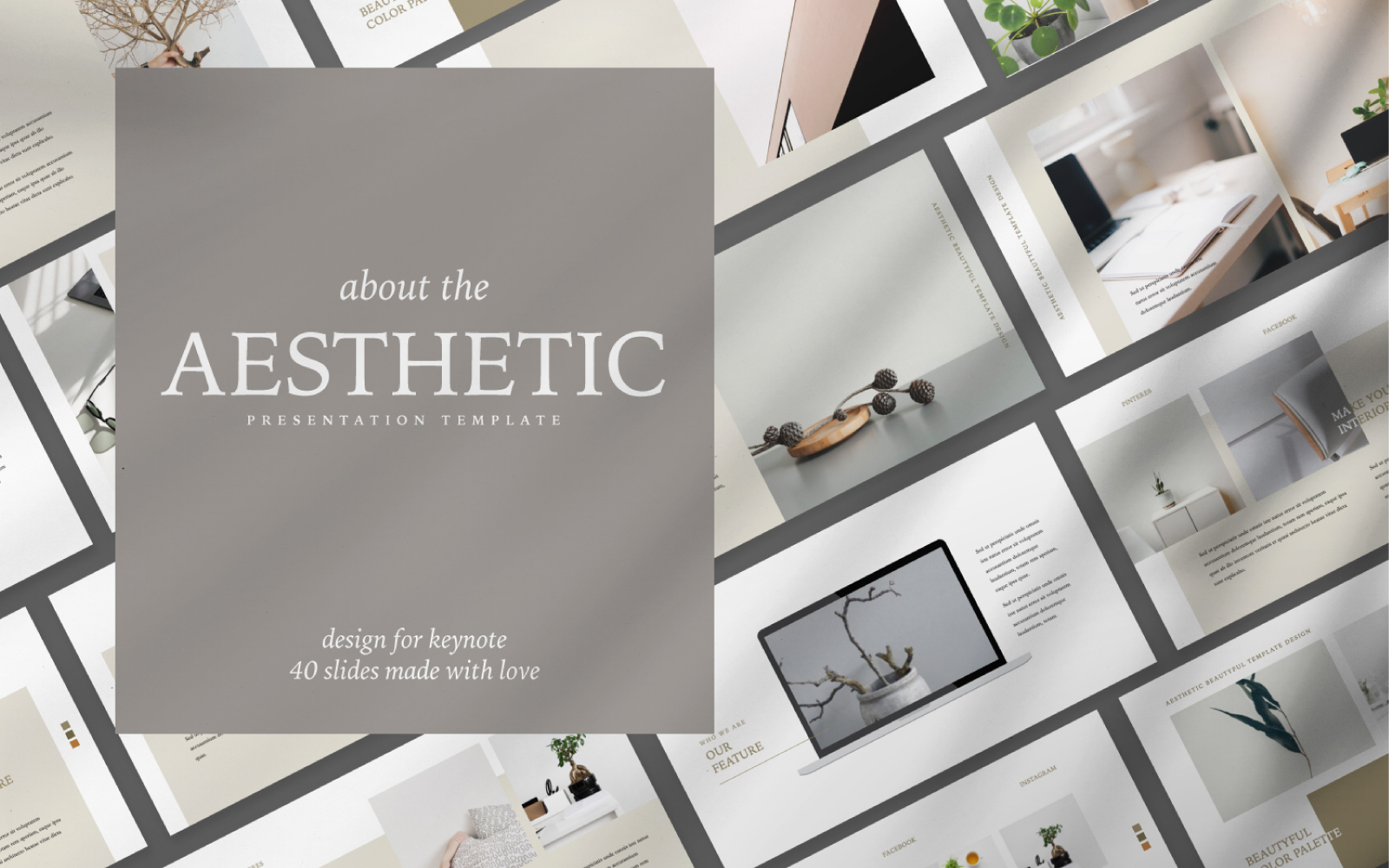 Aesthetic Presentation PowerPoint Template