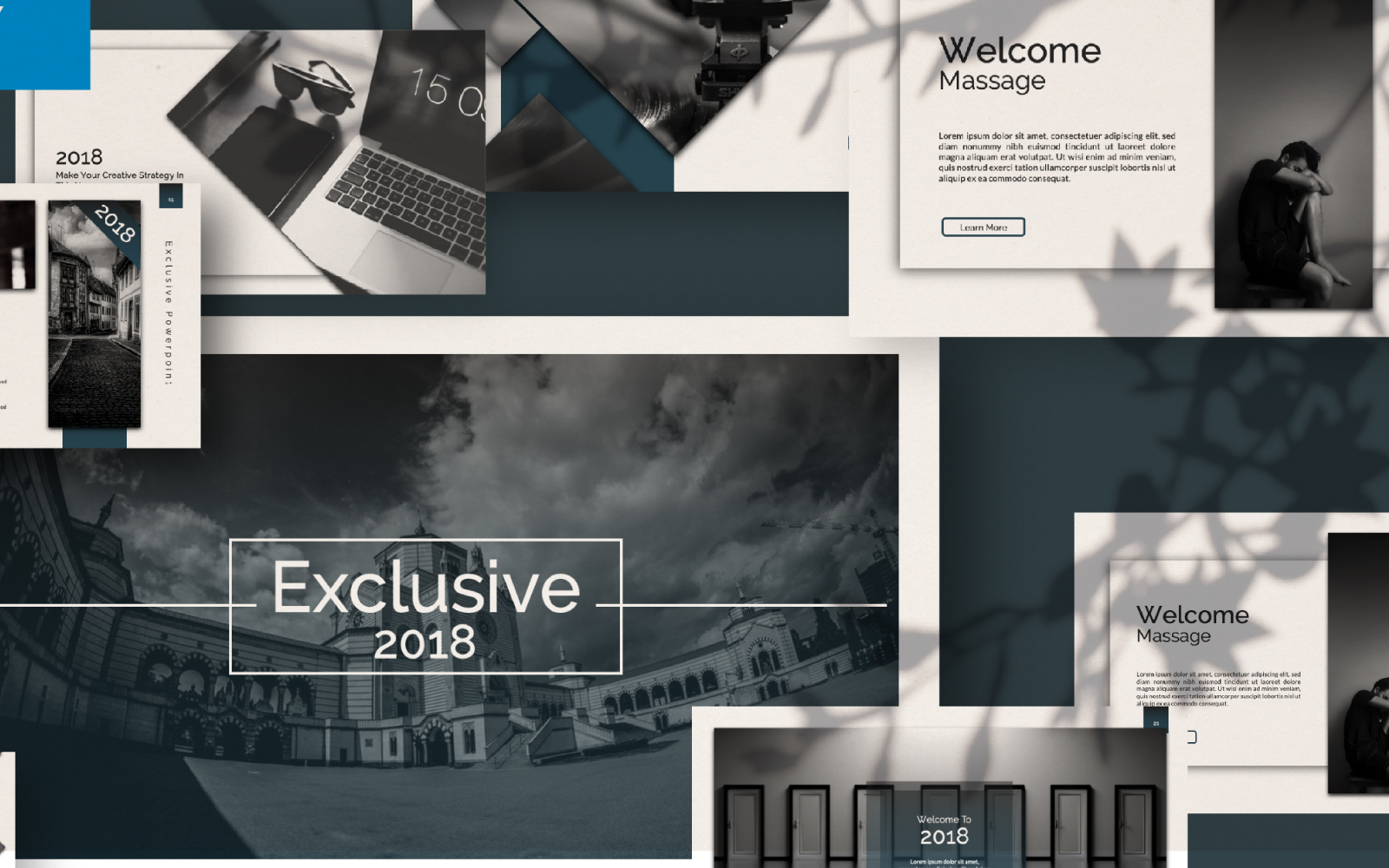 Exclusive Presentation PowerPoint Template