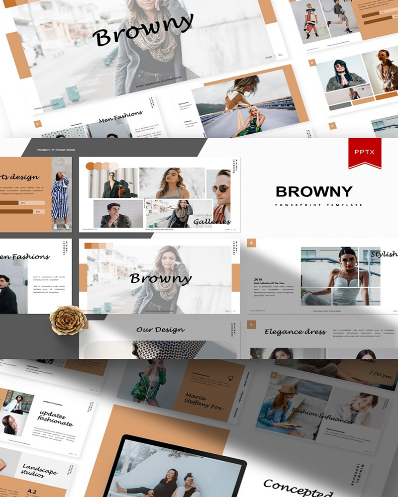Browny | PowerPoint Template