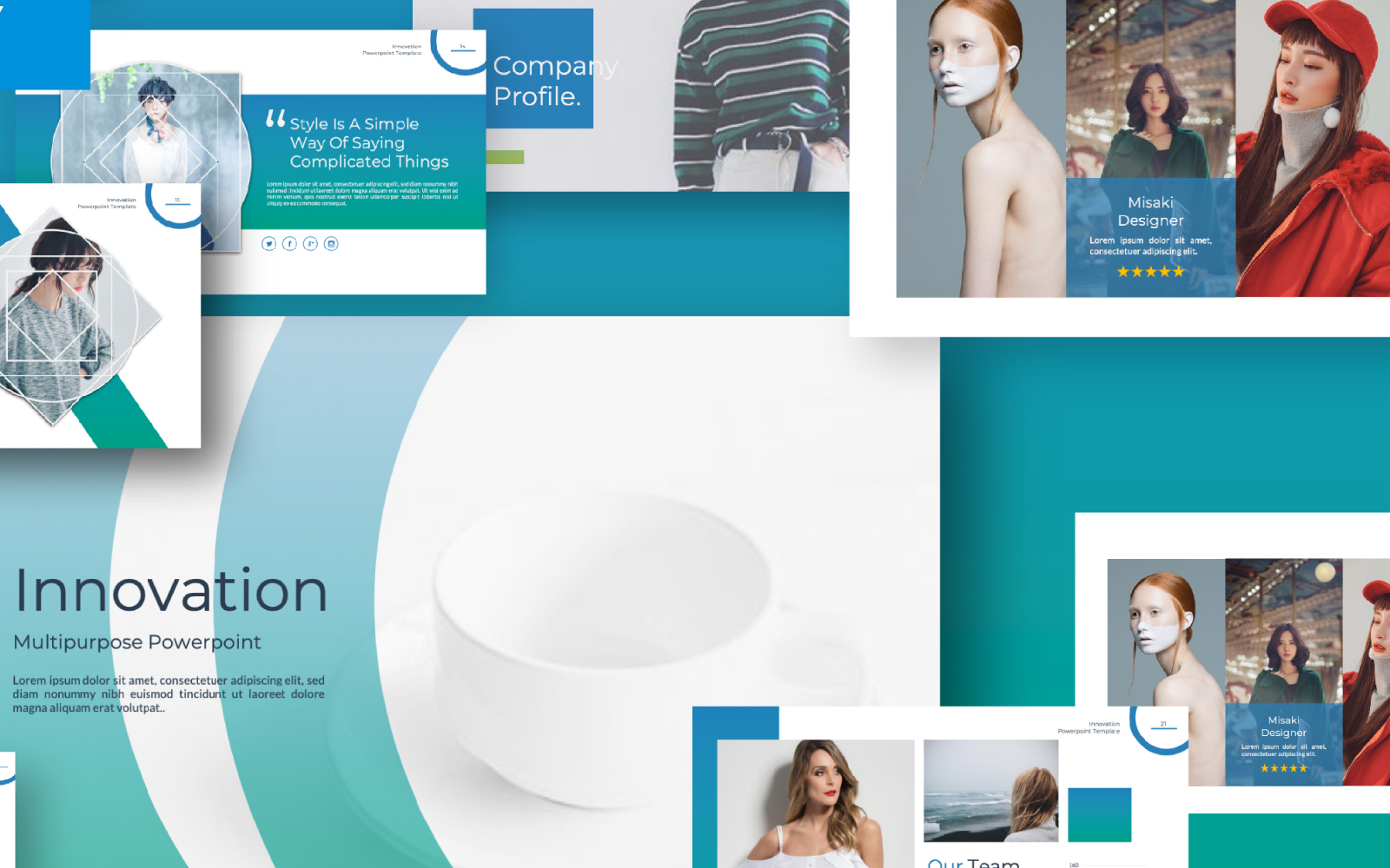 Innovation Presentation PowerPoint Template