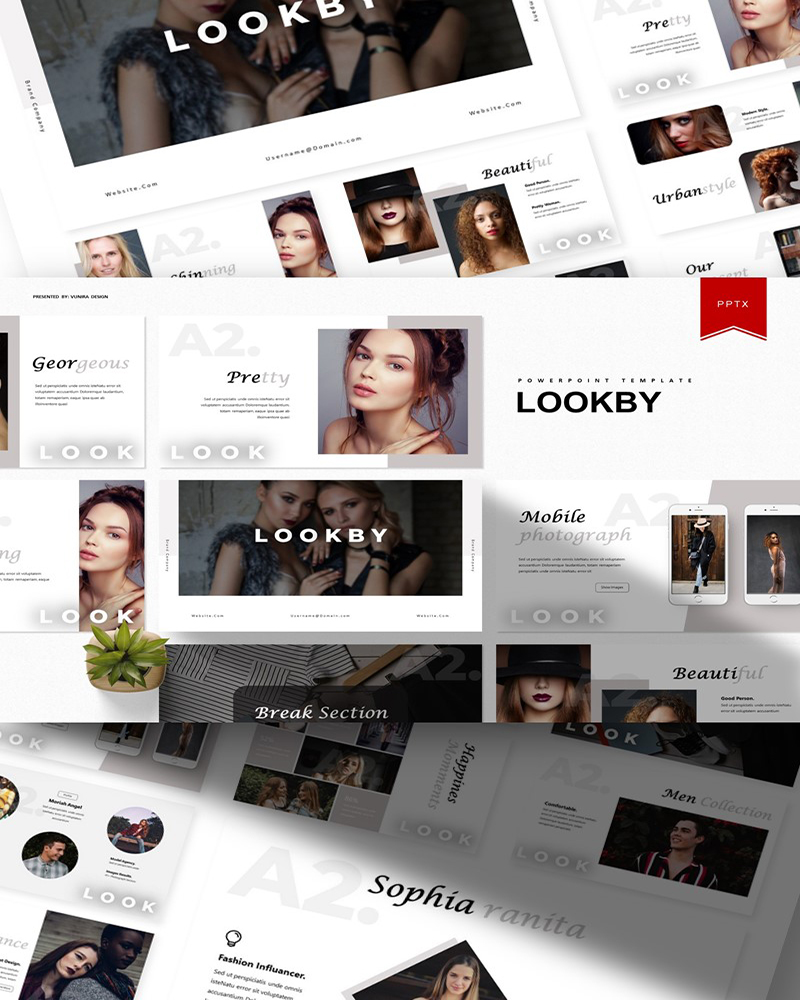 Lookby | PowerPoint Template