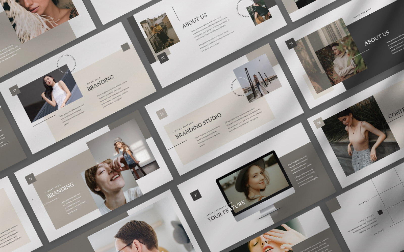 Silly Presentation PowerPoint Template