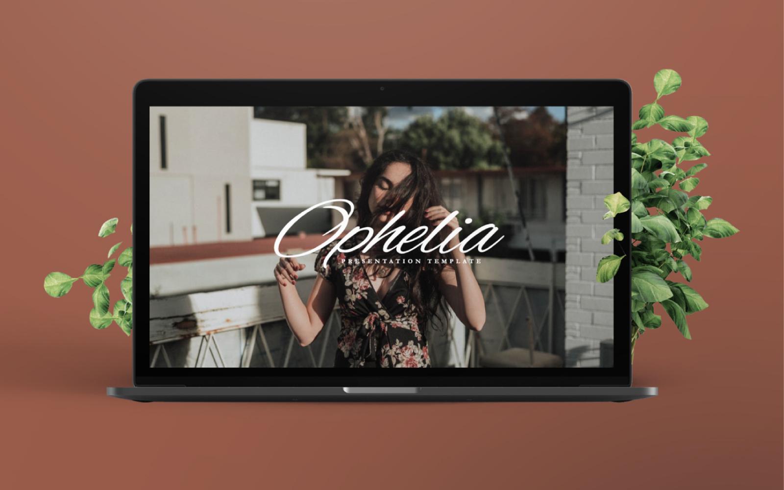 Ophelia Presentation PowerPoint Template