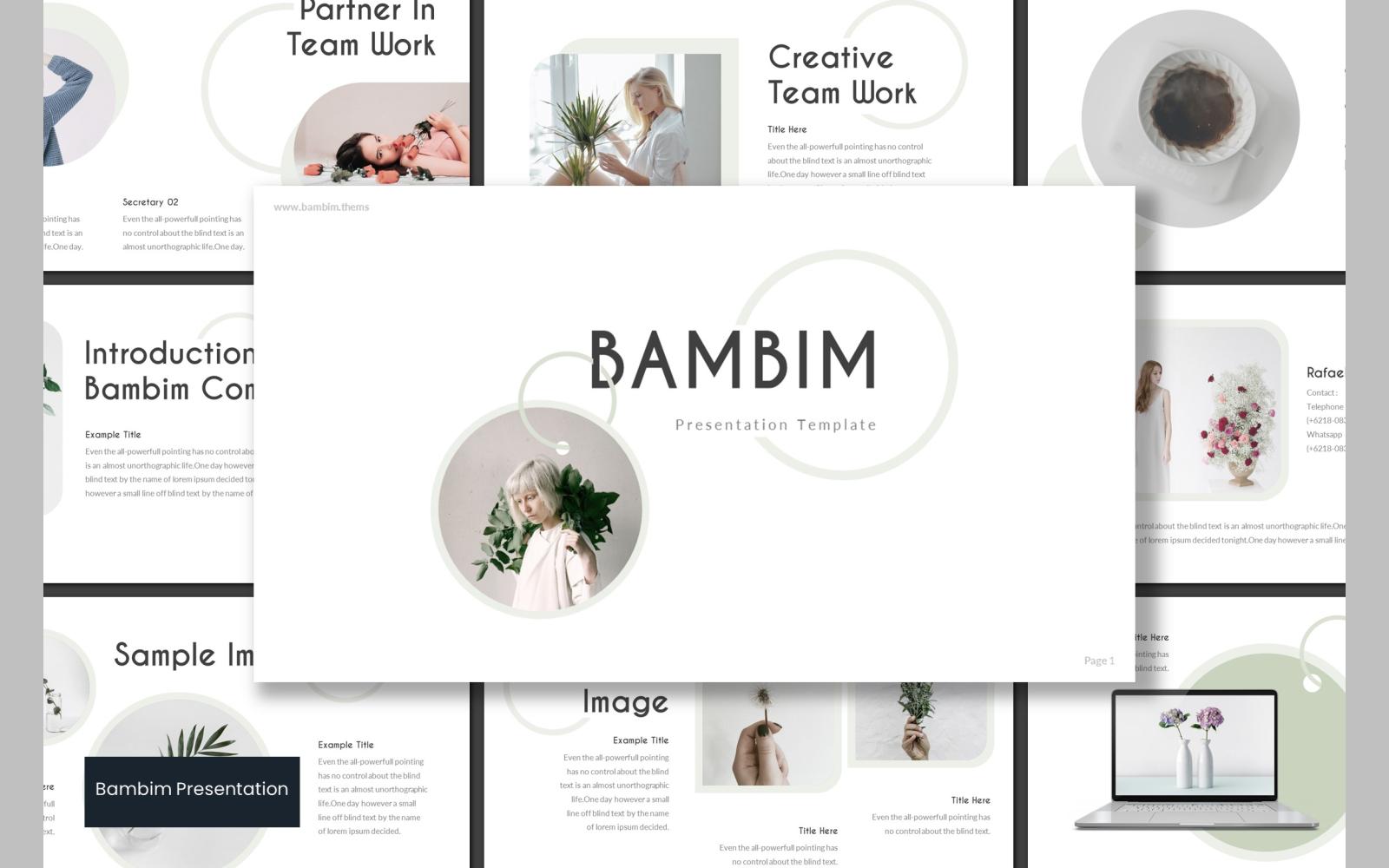 Bambim PowerPoint Template