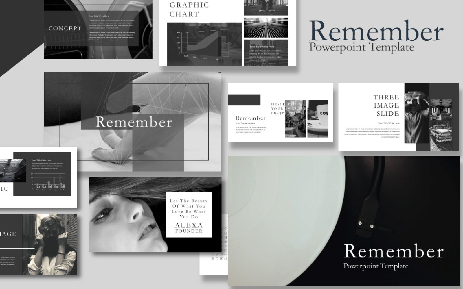 Remember Presentation PowerPoint Template