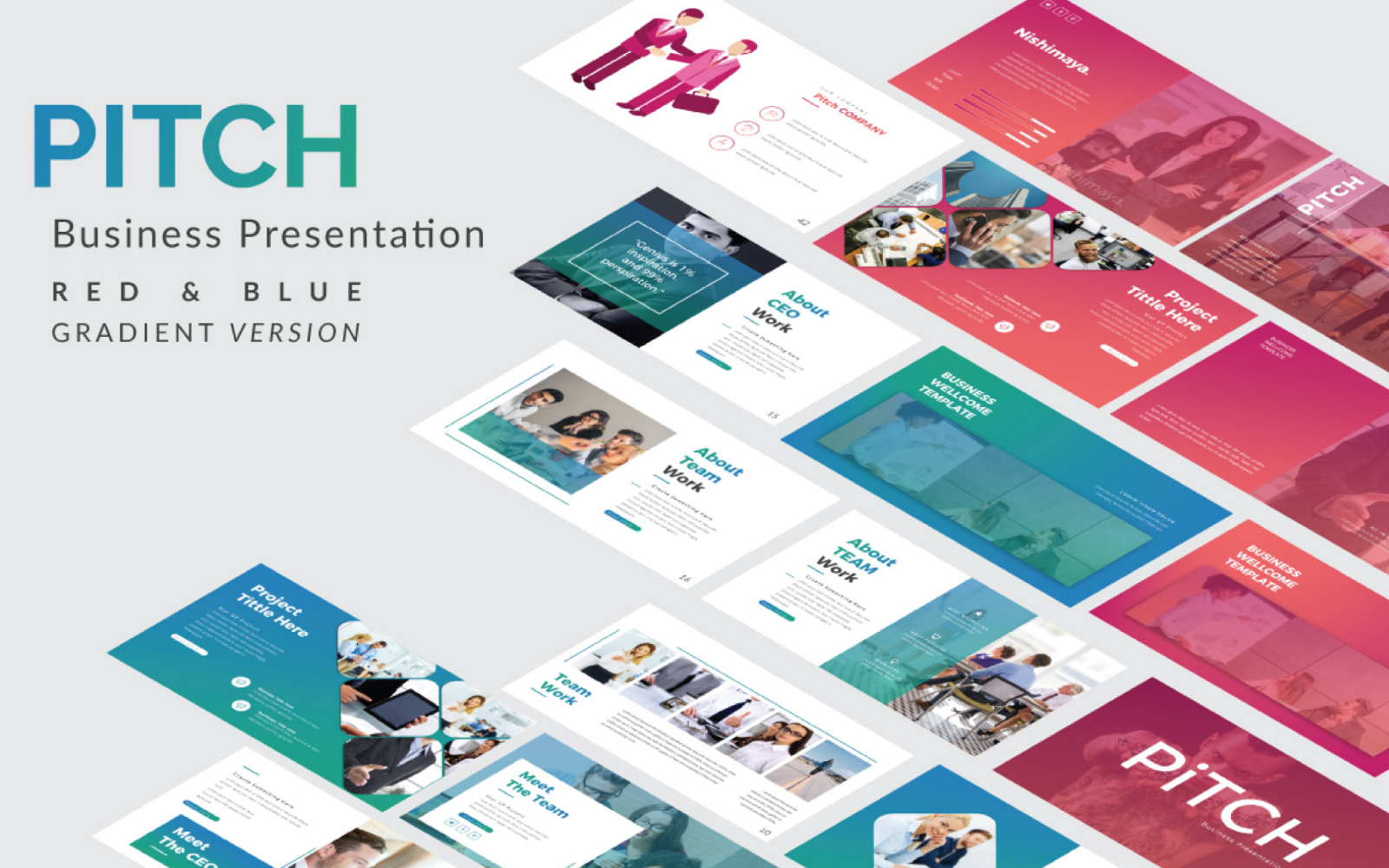 Pitch Presentation PowerPoint Template