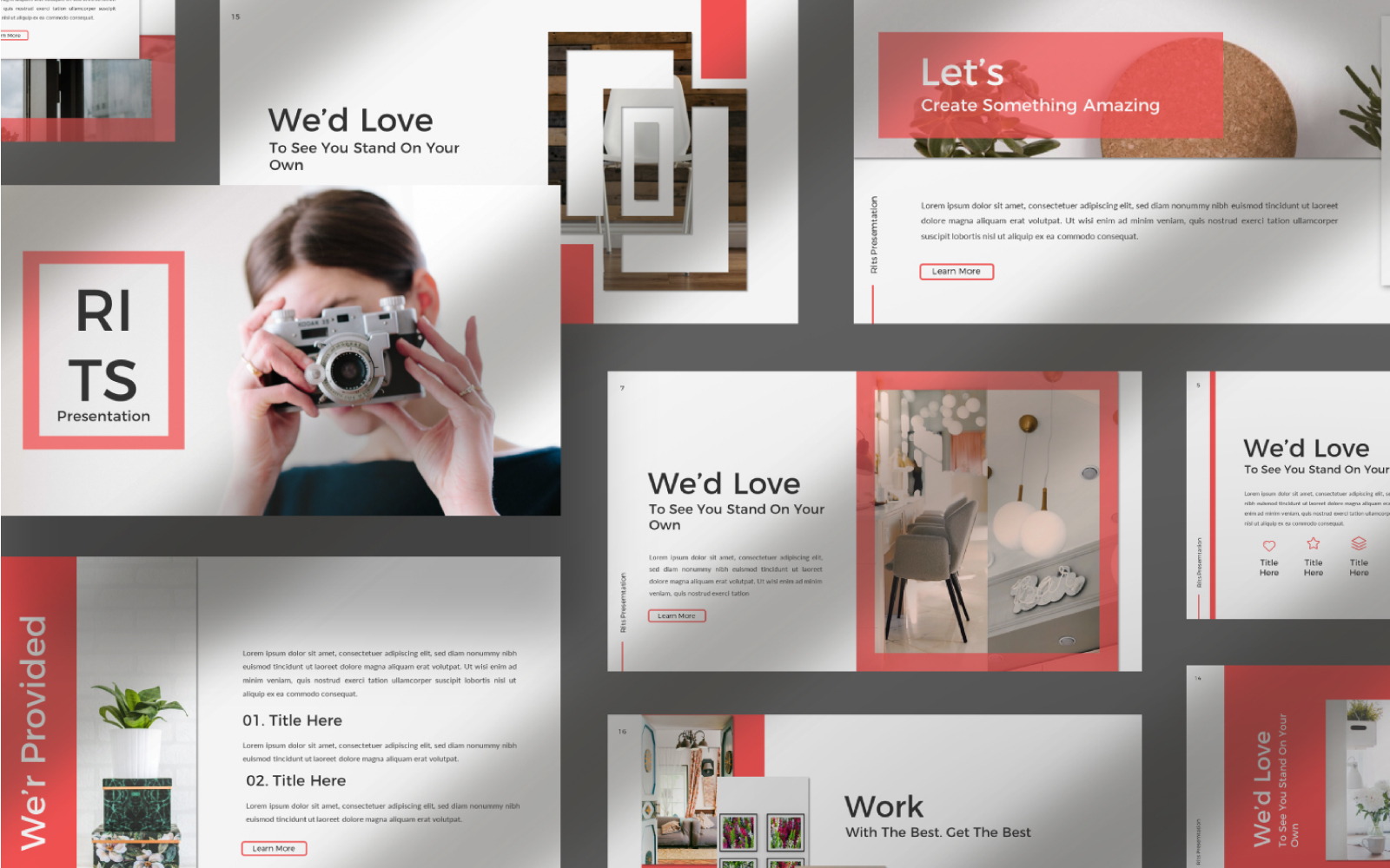 rits Presentation PowerPoint Template
