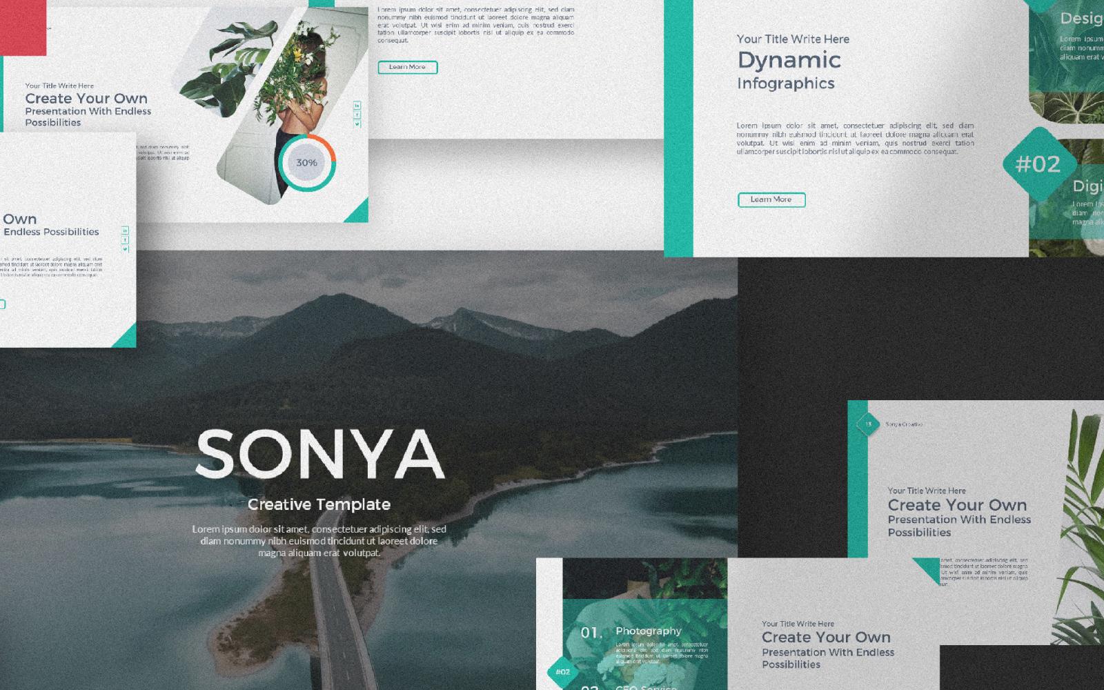 Sonya Presentation PowerPoint Template