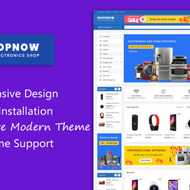 Website Template № 101117
