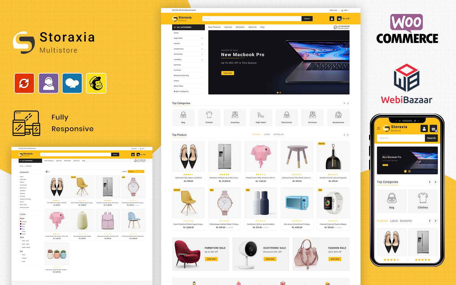 Storaxia - Multipurpose WooCommerce Theme