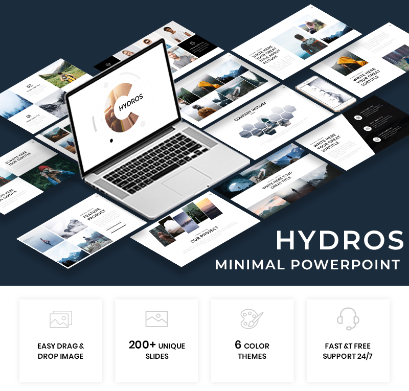 Hydros - Minimal PowerPoint Template