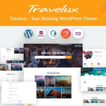Template Turism WordPress #101185
