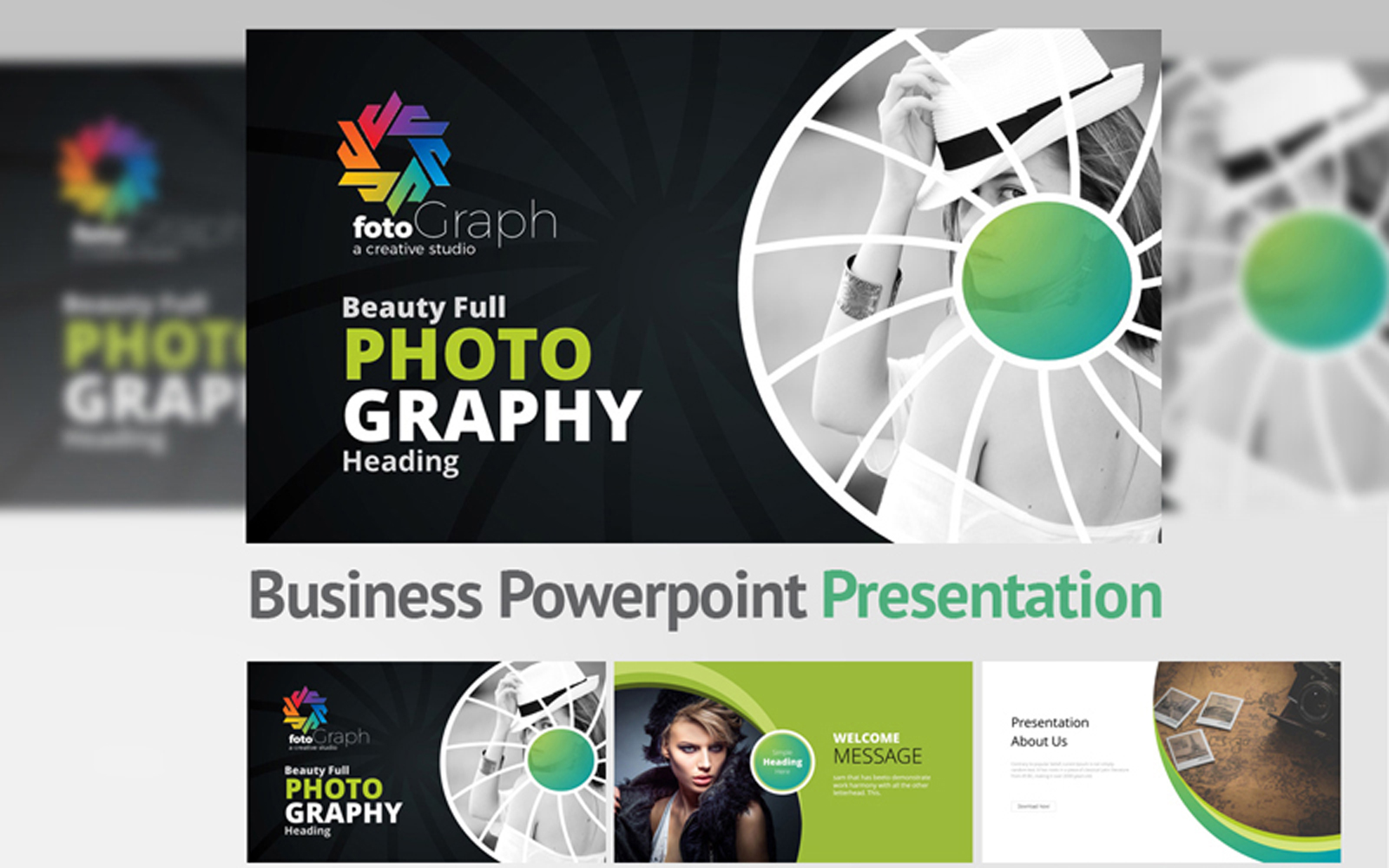 Photo Graphy PowerPoint Template