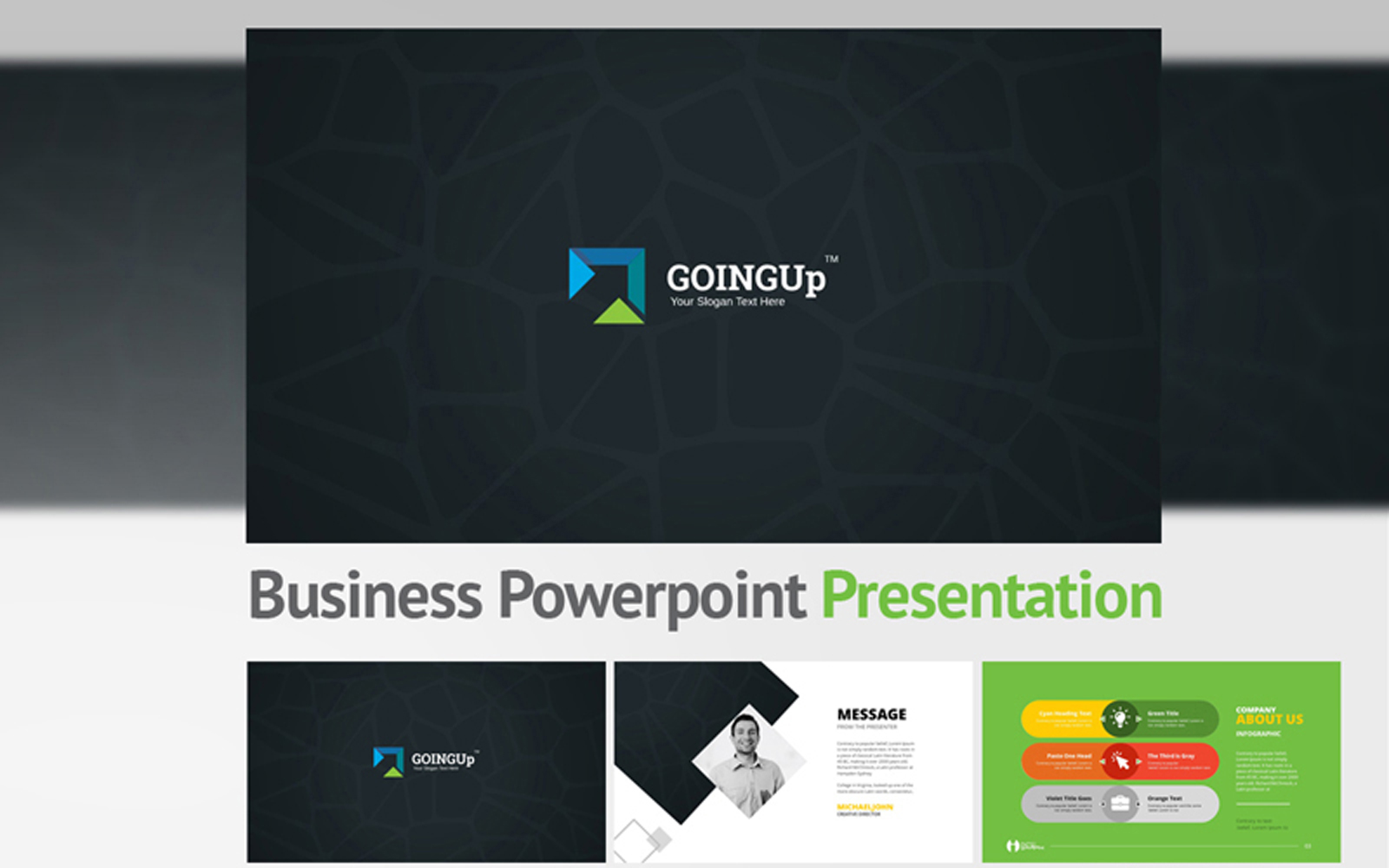Goingup PowerPoint Template