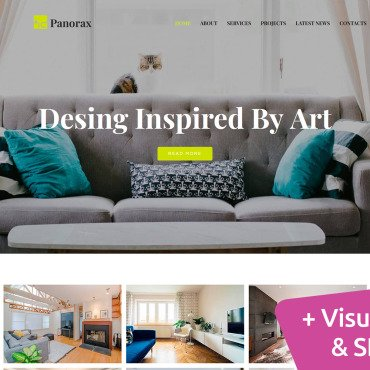 Website Template № 101278
