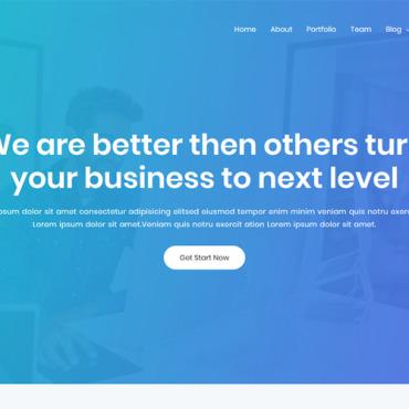 Template Afaceri WordPress #101467