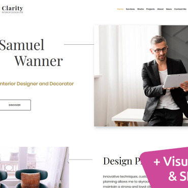 Website Template № 101487