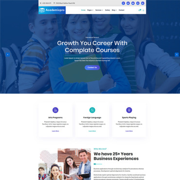 Website Template № 101565