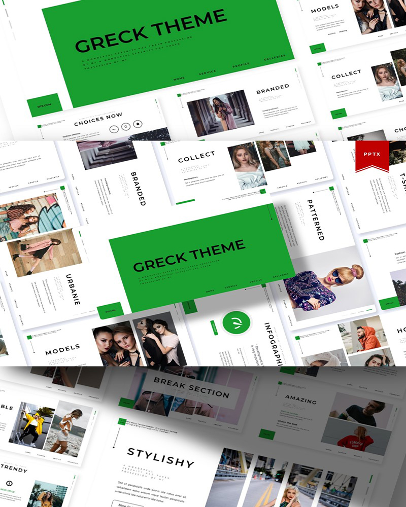 Greck Theme | PowerPoint Template