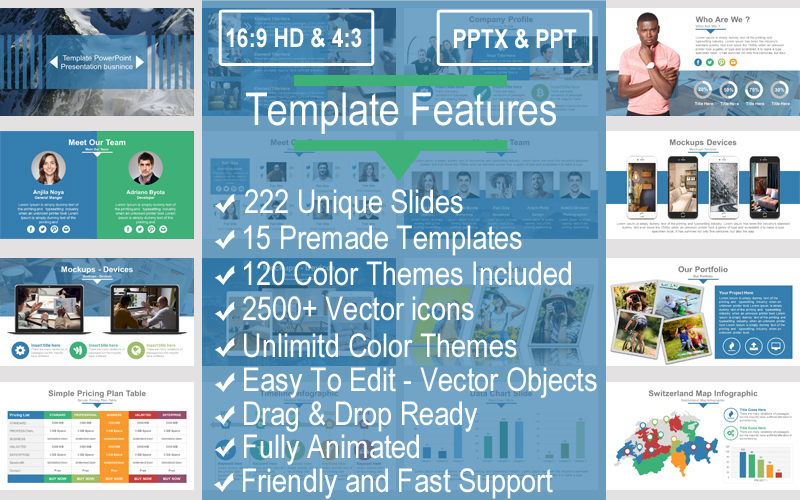 Perfect Business PowerPoint Template