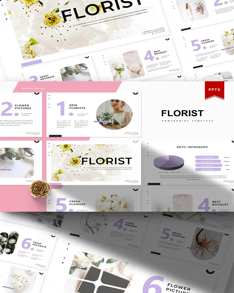 Florist | PowerPoint Template