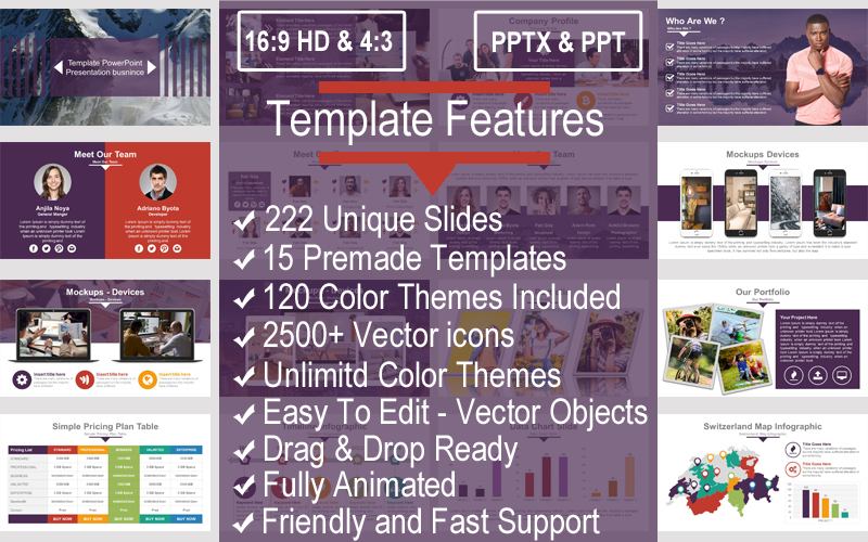 Multipurpose Business PowerPoint Template