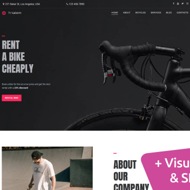 Website Template № 101735