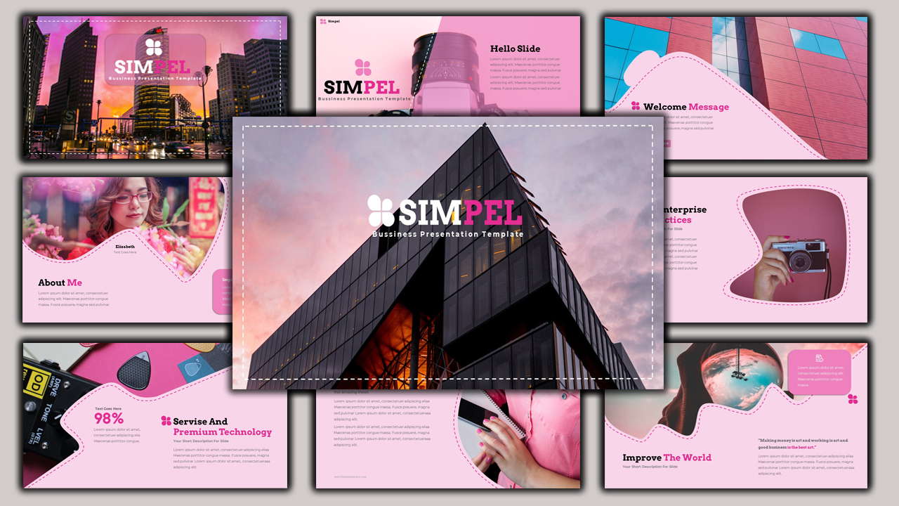 Simpel - Creative Business PowerPoint Template