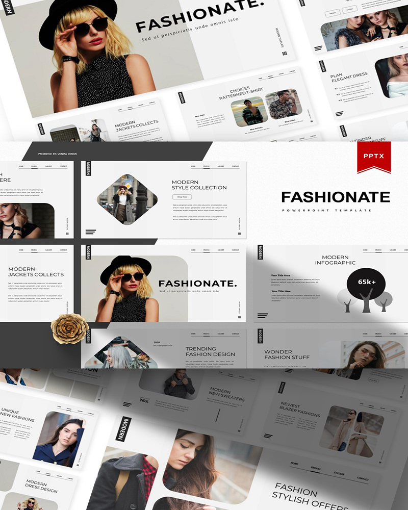 Fashionate | PowerPoint Template