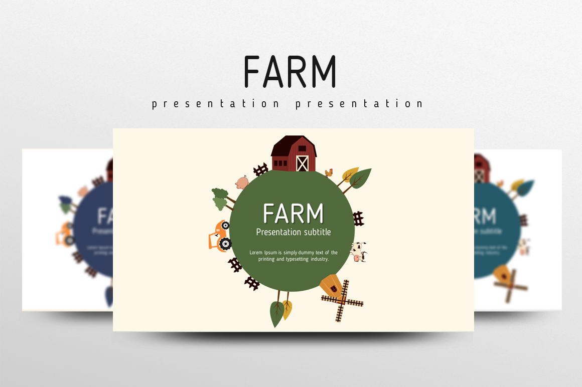 Farm PowerPoint Template