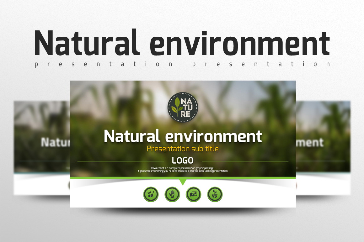 Natural Environment PowerPoint Template
