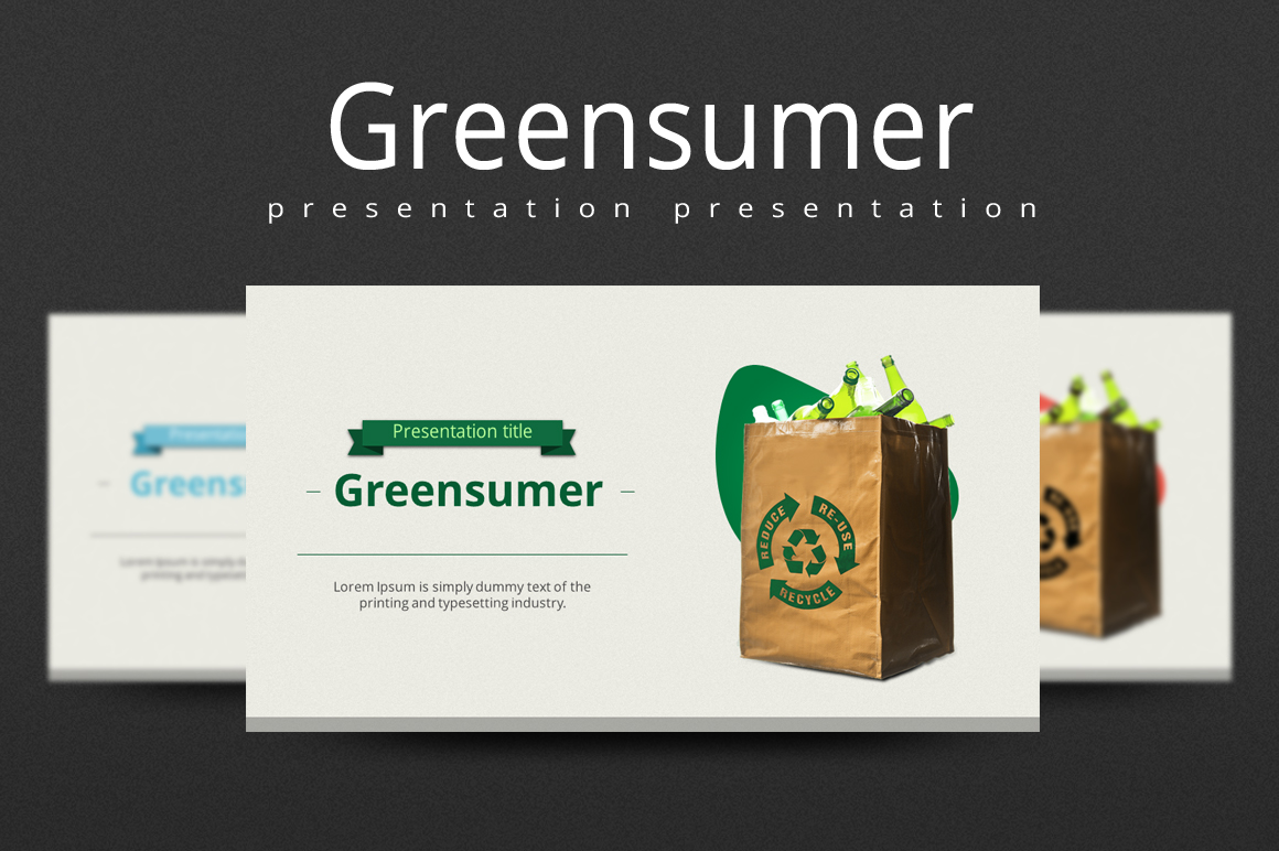 Greensumer PowerPoint Template