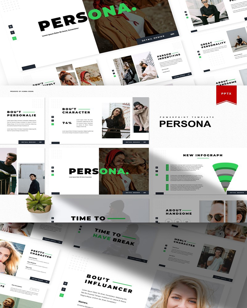 Persona | PowerPoint Template
