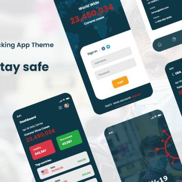 Template Afaceri Aplicații mobile #101923