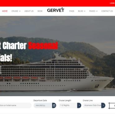 Template Turism HTML, JS şi CSS #101933
