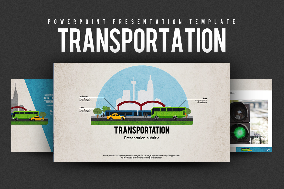 Transportation PowerPoint Template