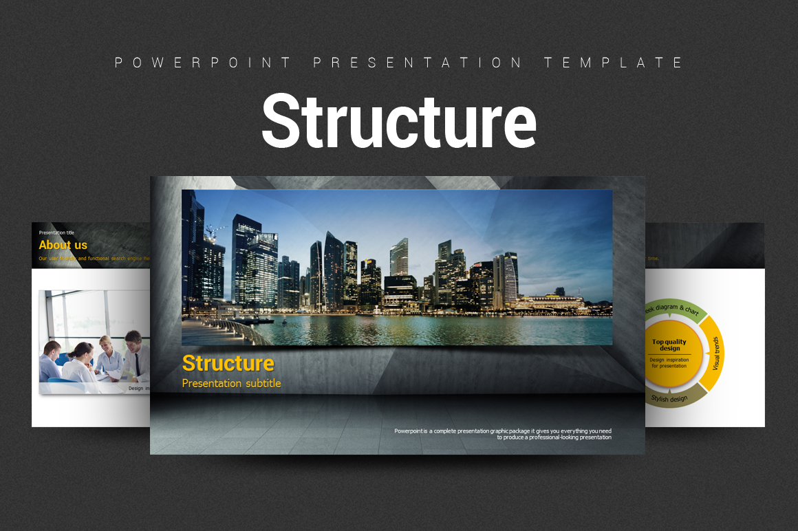 Structure PowerPoint Template