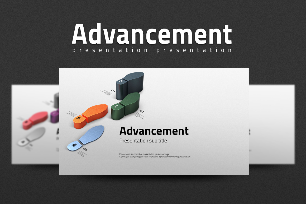 Advancement PowerPoint Template