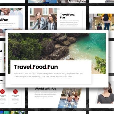 Template Turism PowerPoint #102207