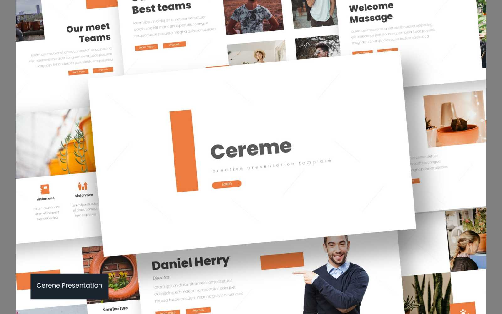Cereme PowerPoint Template